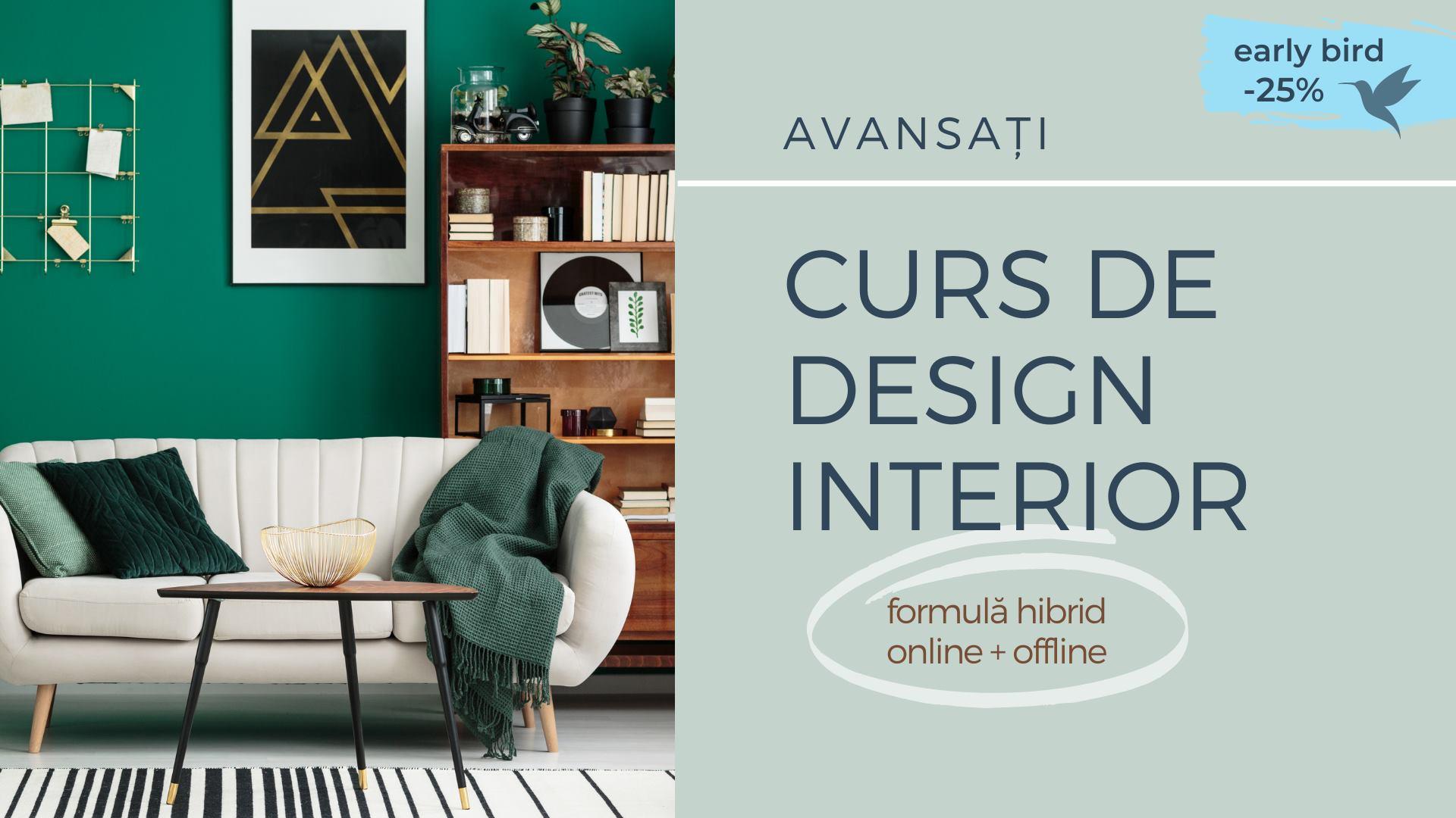 Curs Design Interior | Avansați