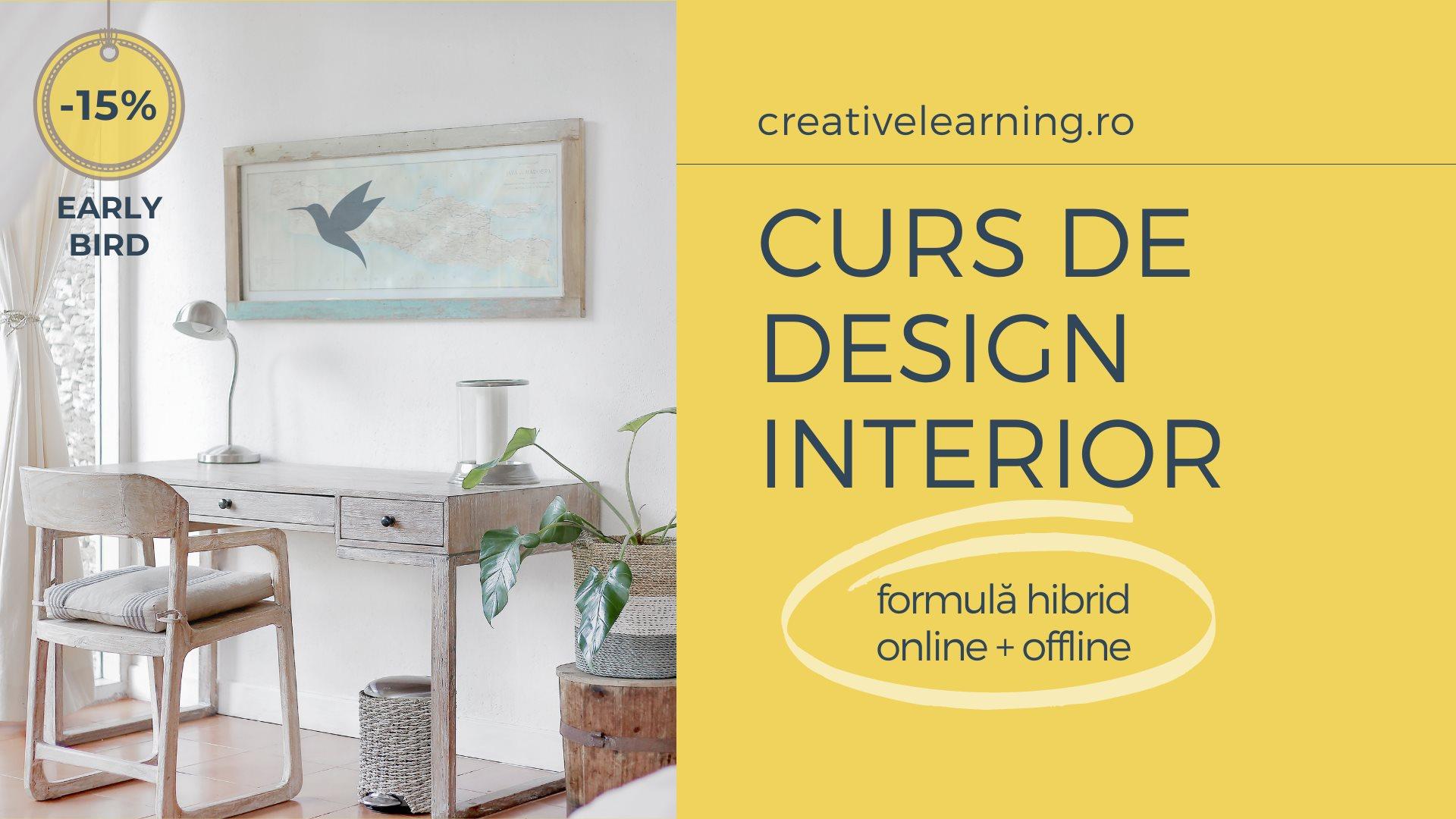 Curs Design Interior | Începători