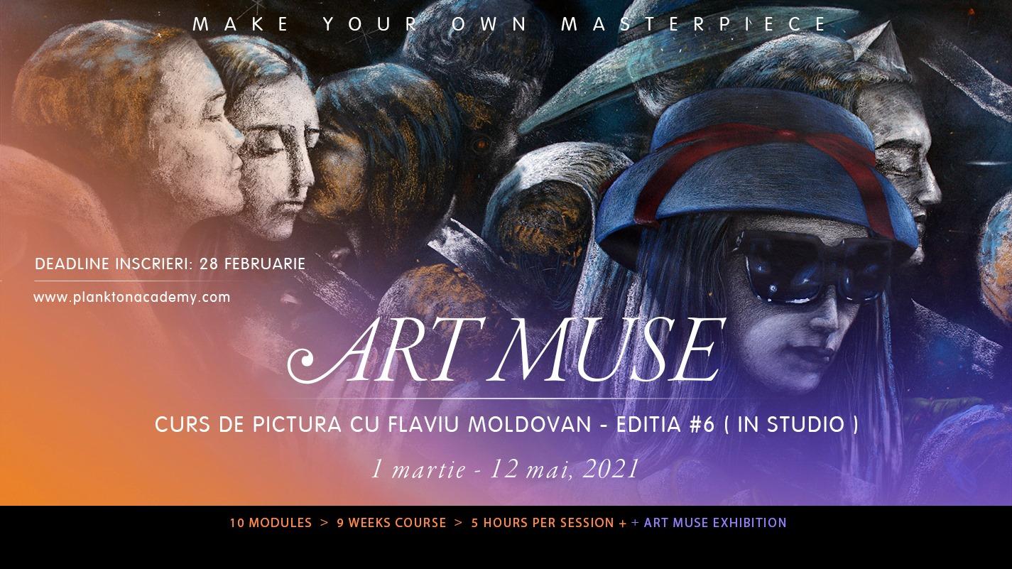 Art Muse 6 – Curs de pictura cu Flaviu Moldovan