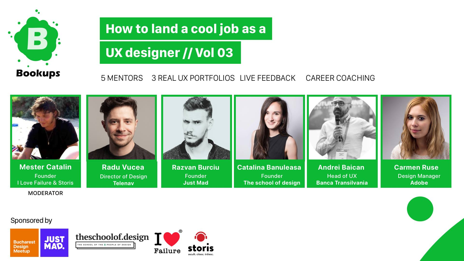 How to land a cool job as a UX Designer // Vol03