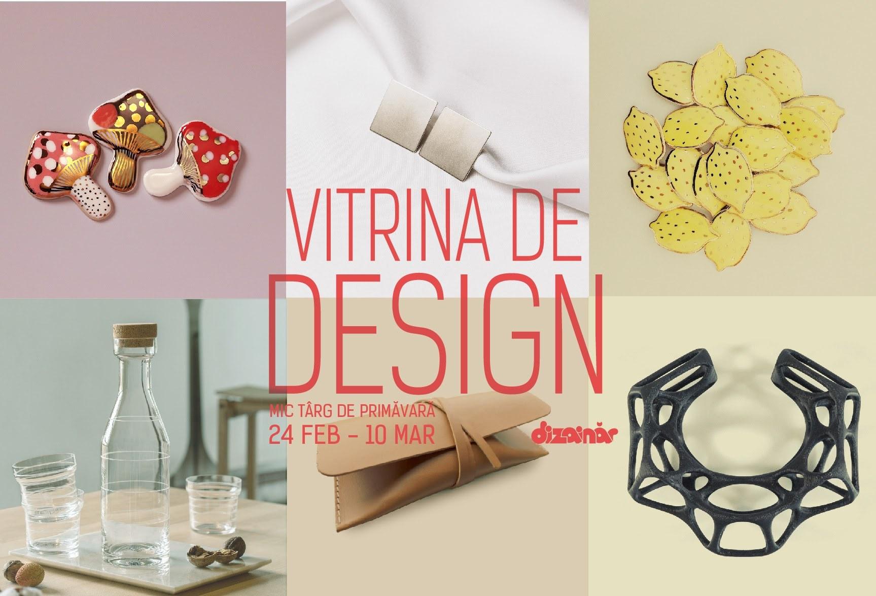 Mic târg de primăvară Vitrina de Design, ediția a 7-a