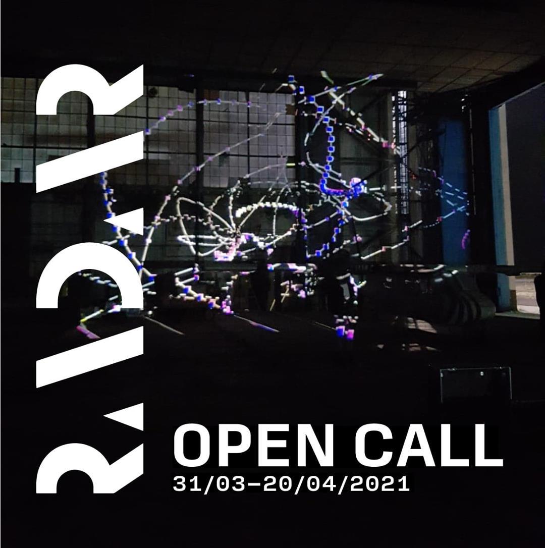 OPEN CALL FOR ARTISTS @ RADAR 2021