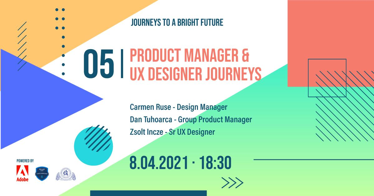A Product Manager & UX Designer Journeys