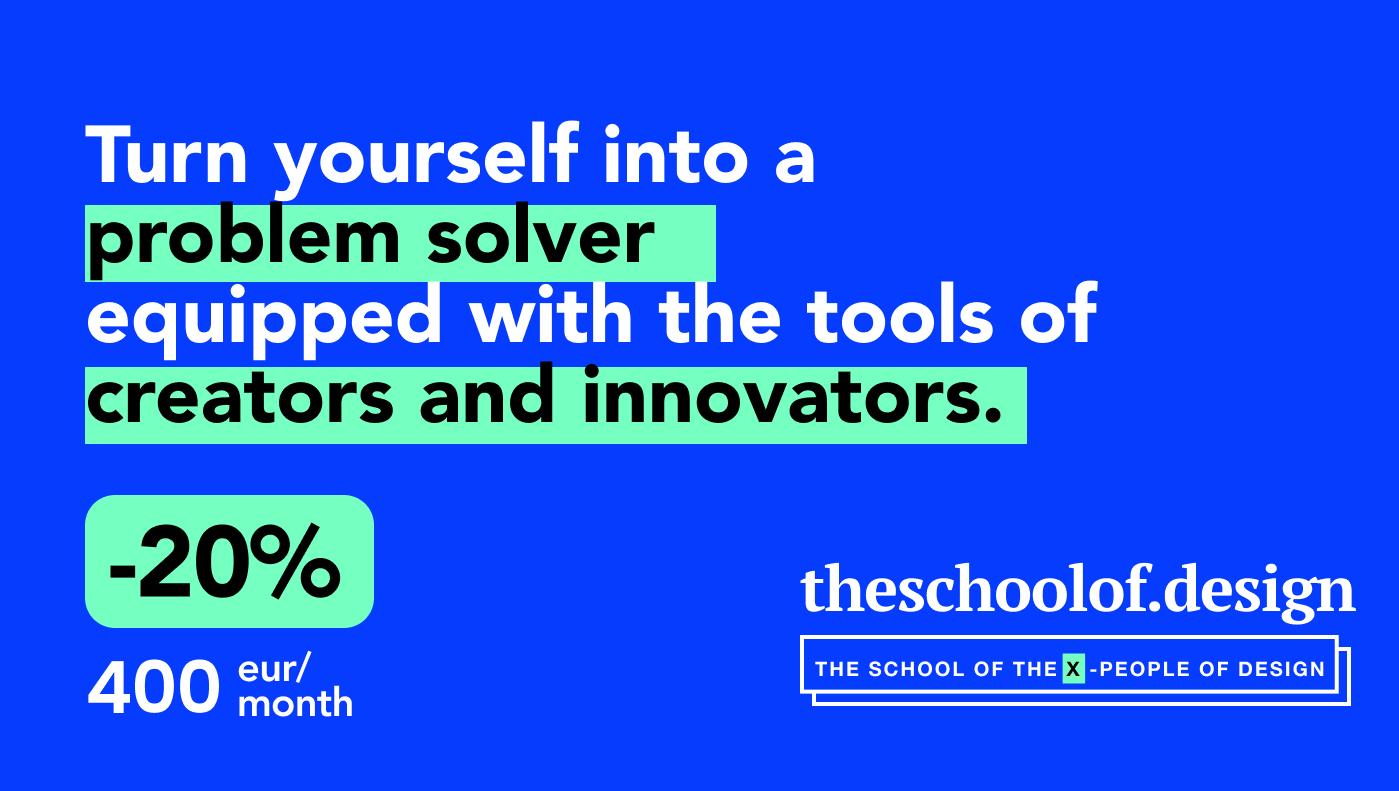 The School of Design digital product design course