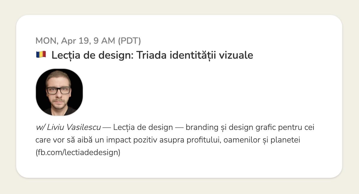 Lecția de design: Triada identității vizuale