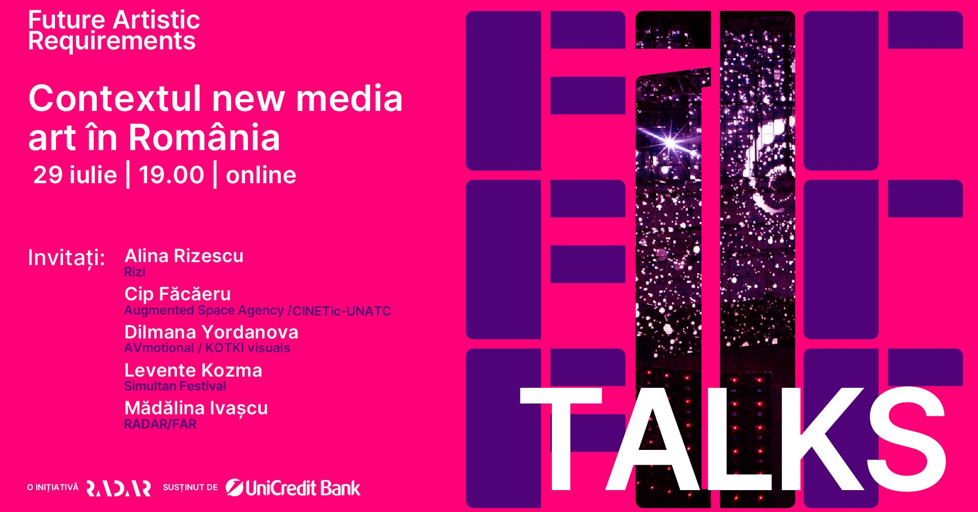 FAR TALKS – Contextul new media art în România