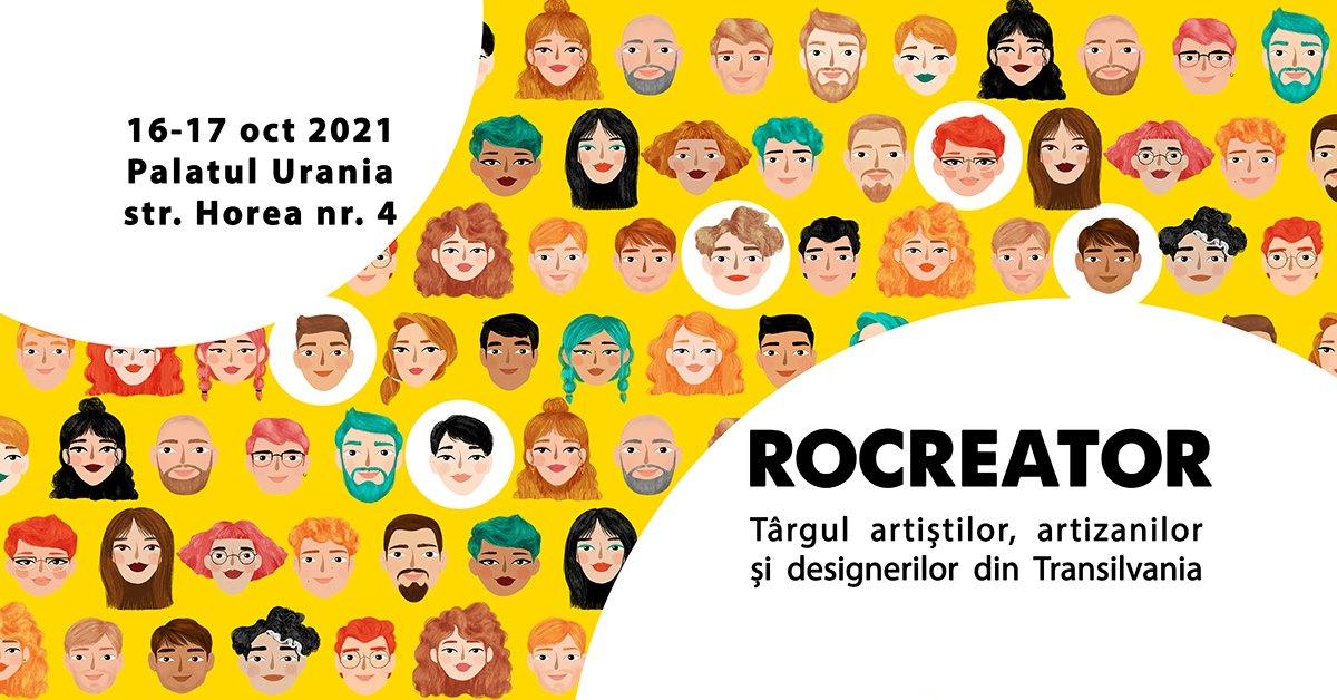 RoCreator – Târgul artiștilor, artizanilor și designerilor din Transilvania – ediția de toamnă 2021