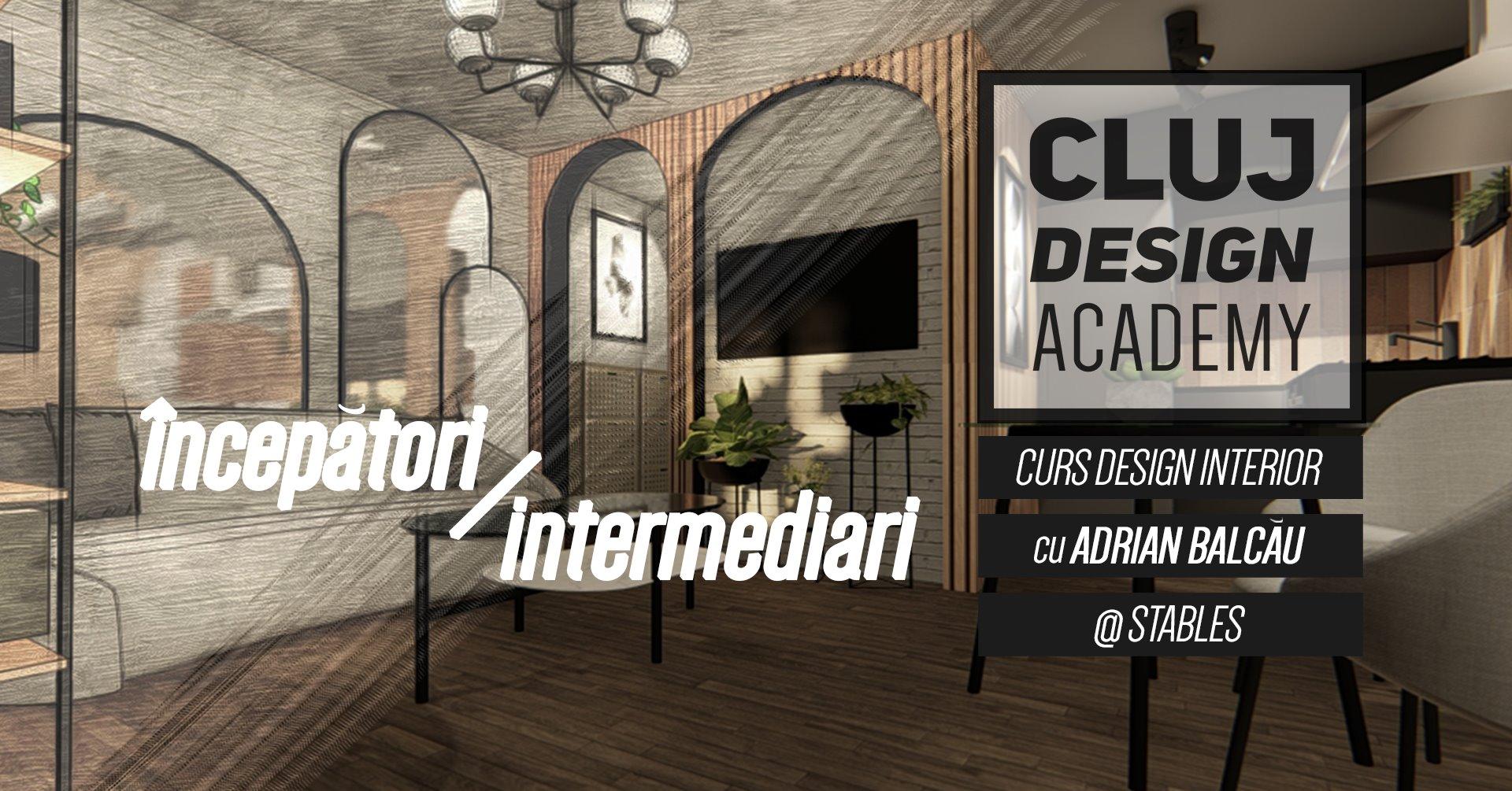 Cluj Design Academy – Curs de Design Interior | începători